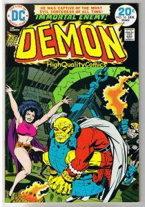 DEMON #16, FN+,  Jack Kirby, 4th World, Etrigan, 1972,  more in store