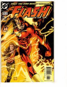 Lot Of 5 Flash DC Comic Books # 213 214 215 216 208 Superman Batman Arrow J266