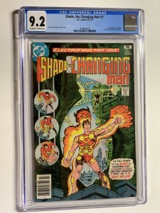 Shade the Changin Man 1 cgc 9.2 ow/w pages dc comics 1977