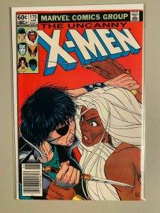 Uncanny X-Men #170 Newsstand 6.0 FN (1983)