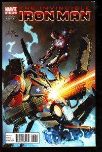 Invincible Iron Man #32 (2011)