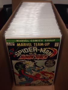 Marvel Team Up 1-150 7.0-9.0 Missing 2 3 5-10 13-16 18 20 21 95 104 105 108 141