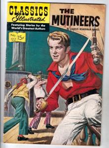 Classics Illustrated #122 (Sep-54) FN/VF+ High-Grade The Mutineers