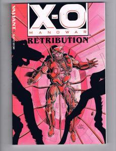 X-O Manowar Retribution Valiant Comics TPB Graphic Novel Bob Layton Series J24