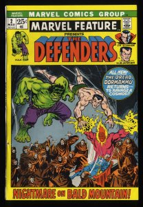 Marvel Feature #2 VF- 7.5 Comics 2nd Defenders!
