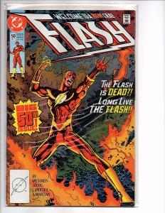 DC Comics Flash #50 Flash [Wally West]; Vandal Savage