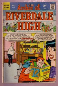 ARCHIE AT RIVERDALE HIGH #2 1972 BETTY AND VERONICA-good G