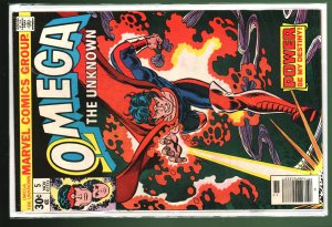 Omega the Unknown #5 (1976)