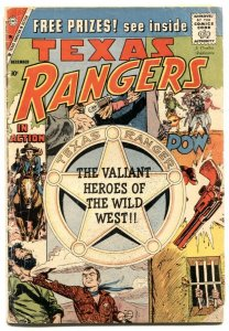 Texas Rangers In Action #19 1959- Charlton western G