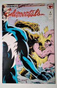 Elementals #18 (1987) Comico Comic Book J756