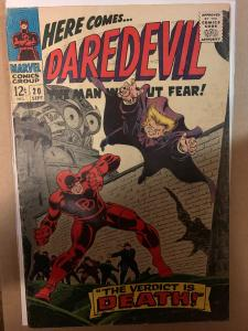 Daredevil (1964) 20 VG (4.0)  2nd Apparence Owl