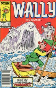 Wally the Wizard #3 (Newsstand) VF/NM; Marvel Star   save on shipping - details