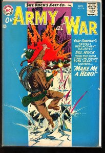 Our Army at War #136 (1963)