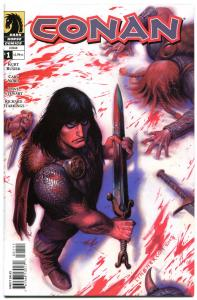 CONAN #1, NM+, Joseph Linsner, Dark Horse, Blood, 2004, more in store
