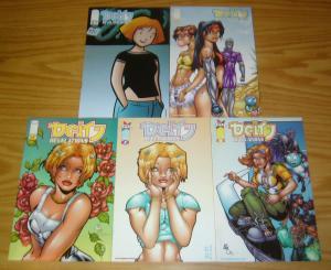 Deity: Revelations #1-4 VF/NM complete series + variant  image comics hyperwerks