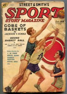 Sport Story Pulp 2nd January 1936- Little Bill Miller
