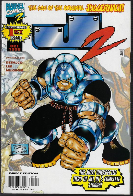 J2 #1 (Marvel, 1998) NM