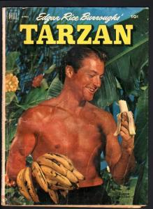 TARZAN COMICS #31-LEX BARKER PHOTO COVER-1952-EDGAR RICE BURROUGHS-JESSE M G