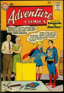 ADVENTURE COMICS #278 1960-SUPERBOY-SUPERGIRL-AQUAMAN-good/very good G/VG
