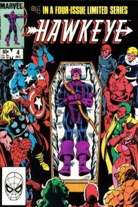 Hawkeye (1983 series) #4, VF+ (Stock photo)