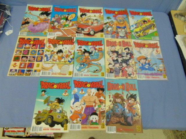 DragonBall Dragon Ball Viz Comics Akira Toriyama Lot of 13 Books Part 4 5 6 MINT