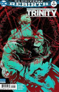 Trinity #12 Rebirth Variant Cvr / Batman / Superman / WW (DC, 2017) NM