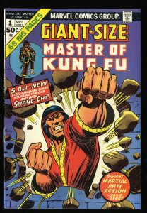 Giant-Size Master of Kung Fu #1 NM- 9.2