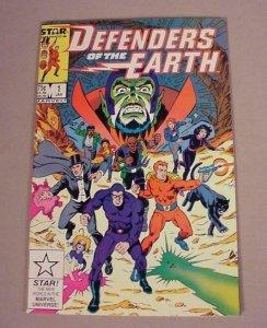 DEFENDERS OF THE EARTH #1, VF, Phantom, Flash Gordon, Star, 1987, more in store