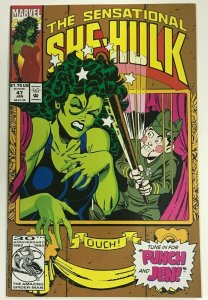 SENSATIONAL SHE-HULK#47 VF/NM 1993 MARVEL COMICS