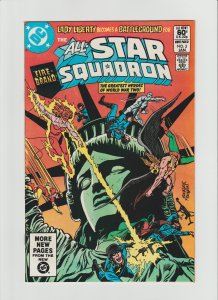 All-Star Squadron #5 FNVF (1982, DC Comics) Rich Buckler Art!