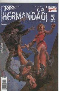 X Men: La Hermandad numero 5