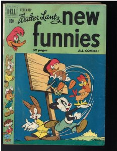 New Funnies #166 (Dell, 1950)