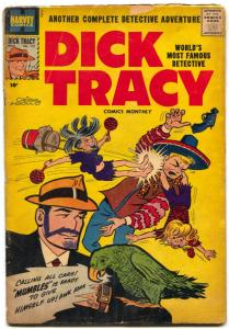 DICK TRACY #121 1958-CHESTER GOULD-HARVEY COMICS-PARROT G