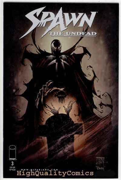 SPAWN the UNDEAD #3, NM+, Turner,Jenkins, Todd McFarlane