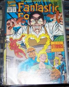FANTASTIC FOUR  #393  1995 Marvel   puppet master ALACIA THING