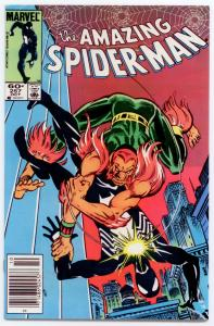 Amazing Spider-Man #257 VERY HIGH GRADE  Black Cat, 2nd Puma; cameos of the Rose