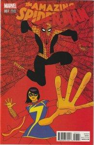 AMAZING SPIDER-MAN # 7 (2014) JAVIER PULIDO 1:25 VARIANT
