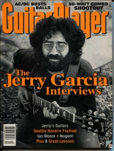 Guitar Player 12/1995-Jerry Garcia-rock n roll history-Ted Nugent-VG