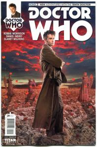 DOCTOR WHO #9 B, NM, 10th, Tardis, 2014, Titan, 1st, more DW in store, Sci-fi