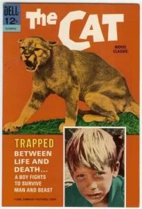 CAT (1966 DELL) 12-109-612 (MOVIE CLASSICS F-VF Barry C COMICS BOOK