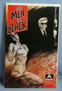 THE MEN IN BLACK #1 (Aircel Comcis Jan 1990) Rare Hot KEY Issue Book L@@K!!