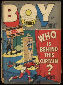 Boy Comics #35 Fair 1.0