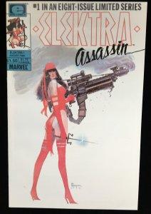 Elektra Assassin 1 (1986) - Excellent- High Grade