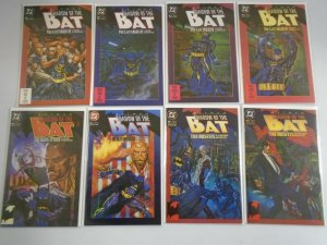 Shadow of the Bat lot 80 different from #1-94 last issue + Annual 8.0 VF (1992-)