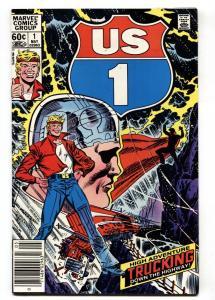 U.S. 1 #1 comic book First Issue-Comic Book NM-