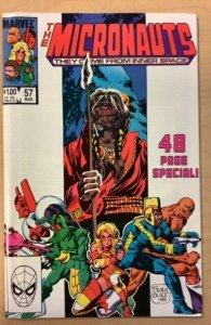 Micronauts #57 (1984)