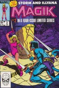 Magik #2 VF/NM; Marvel | save on shipping - details inside