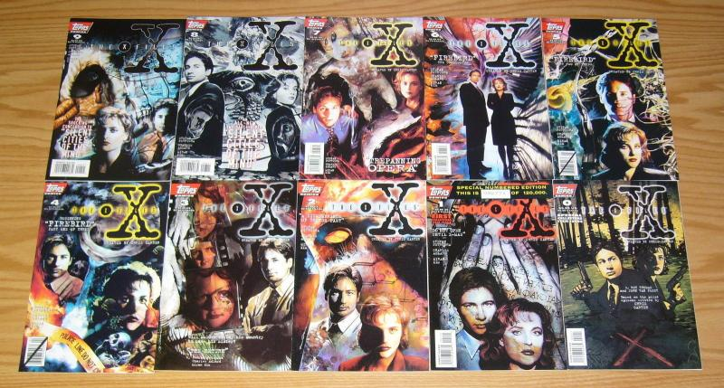 X-Files #0 & 1-41 VF/NM complete series + annual 1-2 - set based on tv show