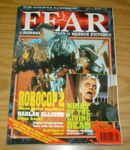 Fear (Magazine) #21 VF; Newsfield | save on shipping - details inside