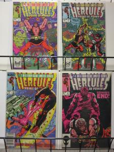 HERCULES (1984 MINI) 1-4 GREEK GOD VS SKRULLS